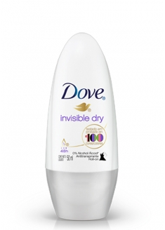 Dove Antiperspirant Deodorant Roll-on - Invisible Dry 50ml