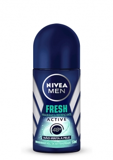 Nivea For Men Desodorante Antitranspirante Roll-on - Fresh Active 50ml