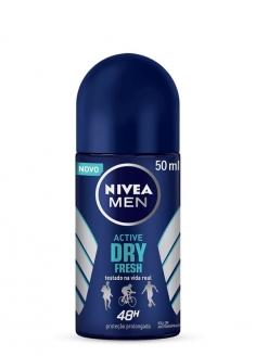 Nivea For Men Antiperspirant Deodorant Roll-on - Fresh Active 50ml