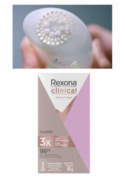 Rexona Clinical Classic Antiperspirant Deodorant 48g