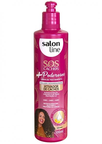Salon Line S.O.S Cachos Mais Poderosos Ativador de Cachos 300ml