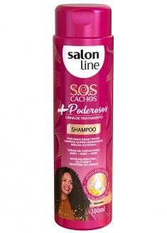 Salon Line S.O.S Cachos Mais Poderosos Shampoo 300ml