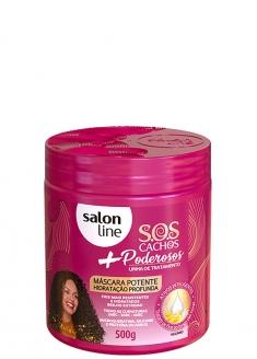Salon Line S.O.S Cachos Mais Poderosos Curly Hair Powerful Deep Hydration Mask 500g