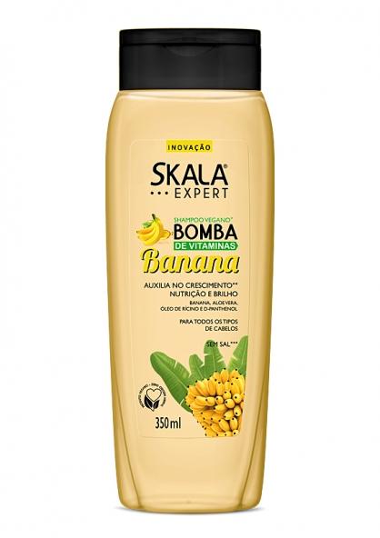 Skala Expert Vitamin Bomb Banana Shampoo 350ml