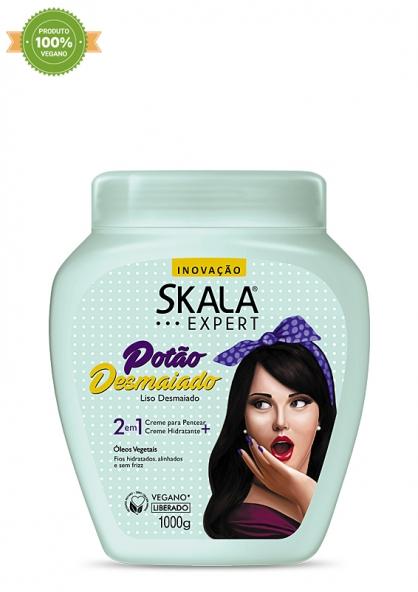 Skala Expert Potão Desmaiado 2 in 1 - Combing Cream + Moisturizing Hair Cream 1000g