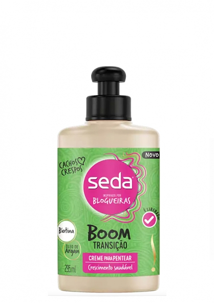 Seda Leave-in Cream Boom Transition - Curly Hair - 295ml