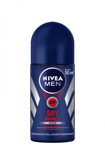 Nivea For Men Antiperspirant Deodorant Roll-on - Dry Impact 50ml