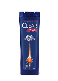 Clear Men Fall Control Antidandruff Shampoo 200ml