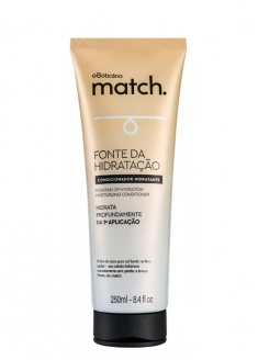 O Boticário Match Fountain Of Hydration Moisturizing Conditioner 250ml