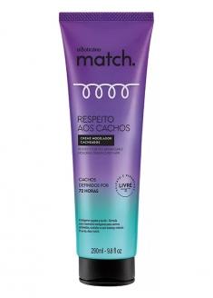 O Boticário Match Curl Respect Curly Hair Molding Cream 290ml