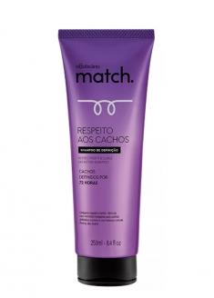 O Boticário Match Curl Respect Shampoo 250ml