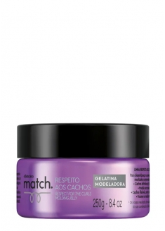 O Boticário Match Curl Respect Curly Hair Modeling Jelly 250g