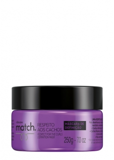 O Boticário Match Curl Respect Curly Definition Hair Mask 250g