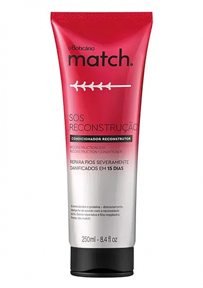 O Boticário Match SOS Reconstruction Condicionador 250ml