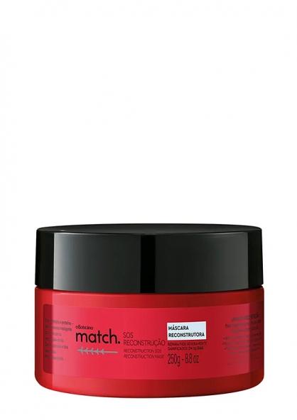 O Boticário Match SOS Reconstruction Hair Mask 250g
