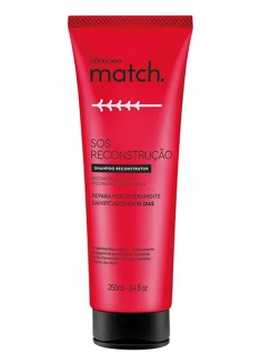 O Boticário Match SOS Reconstruction Shampoo 250ml