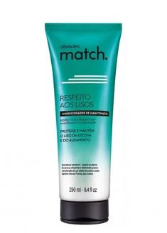 O Boticário Match Respect For The Straight Hair Conditioner 250ml