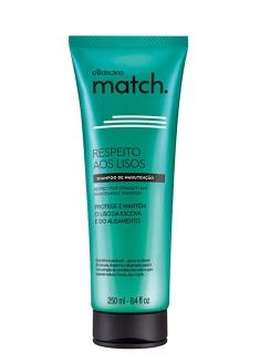 O Boticário Match Respect For The Straight Hair Shampoo 250ml