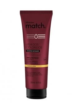 O Boticário Match Liga Dos Coloridos Shampoo Cabelos Loiros 250ml