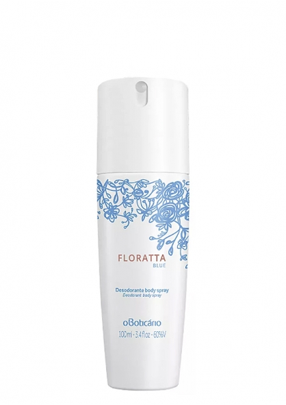 O Boticario Floratta in Blue Woman Deodorant Body Spray 100ml
