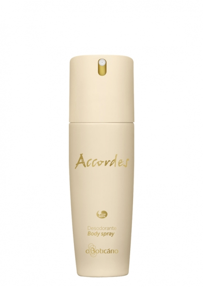 O Boticário Accordes Deodorant Body Spray 100ml