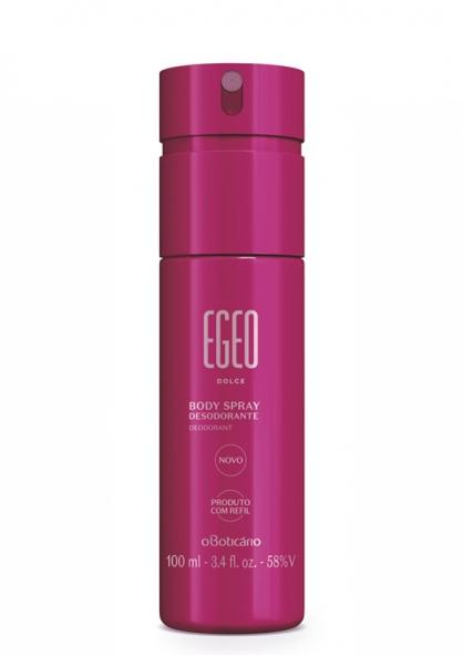 O Boticario Egeo Dolce Body Spray Deodorant 100ml