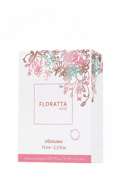 O Boticário Floratta Rose eau de toilette 75ml
