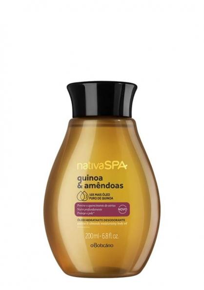 O Boticário Nativa SPA Almond & Quinoa Moisturizing Body Oil 200ml