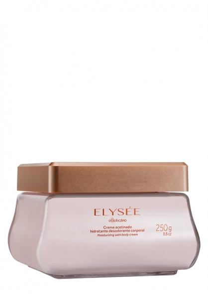 O Boticário Elysée Moisturizing Satin Body Cream - 250g