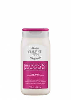 O Boticário Extraordinary Restoration - Damage Hair Type Shampoo 250ml