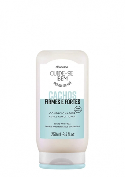 O Boticario Cachos Firmes e Fortes  - Curly and Frizz Hair Type Conditioner 250ml