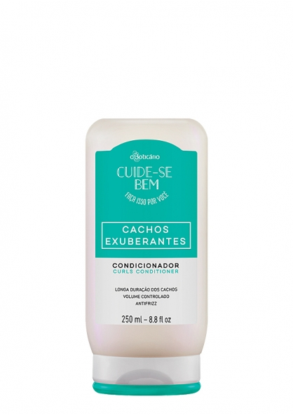 O Boticario Lush Curls  - Curly and Frizz Hair Type Conditioner 250ml